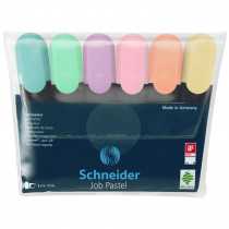 Pastel Job Highlighters, Pack of 6 - STW115097 | Stride, Inc. | Highlighters