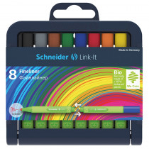 STW191298 - Linkit .4Mm Fn Liner Pen 8 Colors Schneider in Pens