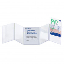 STW65500 - Clear Display Panels 5 Count Panels in Sheet Protectors