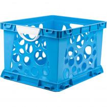 STX61455U03C - Premium File Crate W Handles Blue Classroom in Storage