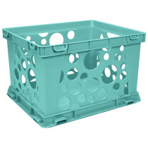 STX61634U24C - Mini Crate School Teal in Storage