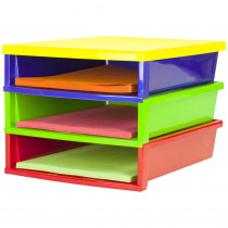 STX61640E01C - Quick Stack Construction Paper Organizer in Storage