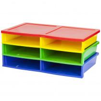 STX61656E01C - Quick Stack Literature Organizer 6 Compartments in Storage