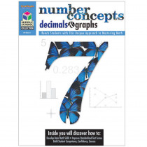 SV-04352 - Middle School Math Collection Number Concepts Decimals & Graphs in Activity Books