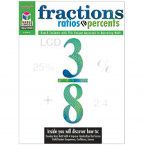 SV-04360 - Middle School Math Collection Fractions Ratios & Percents in Activity Books