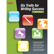 SV-9780547893563 - Six Traits For Writing Success Middle School in Writing Skills