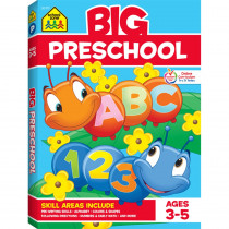 SZP06315 - Big Preschool Workbook in Skill Builders