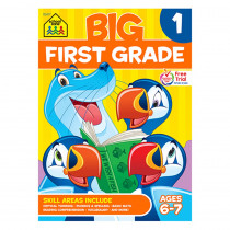 SZP06317 - Big First Grade Workbook in Skill Builders