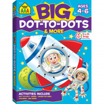 SZP06347 - Big Workbook Alphabet Dot To Dots in Art Activity Books