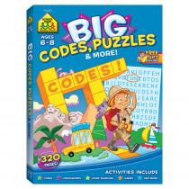 SZP06349 - Big Workbook Alphabet Codes Puzzles & More in Art Activity Books