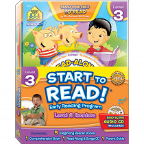 SZP08317 - Early Reading Program Level 3 Start To Read in Reading Skills