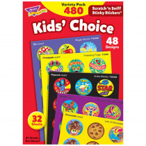 T-089 - Stinky Stickers Round Super 465/Pk Saver in Stickers