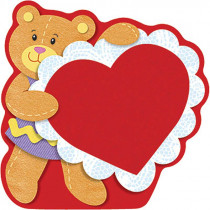 T-10044 - Classic Accents Valentine Bear 36Pk 5 X 5 in Holiday/seasonal