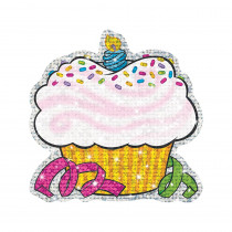 T-10101 - Sparkle Accents 24/Pk Birthday Cupcakes 5 X 5 in Accents