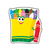 T-10531 - Mini Accents Crayons 36/Pk 3In in Accents