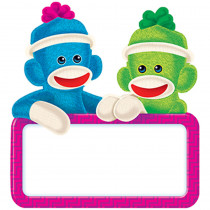 T-10596 - Sock Monkey Signs Mini Accents in Accents