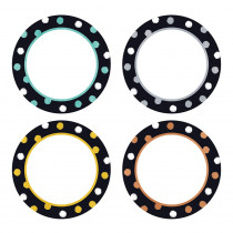 T-10672 - Dot Circles Classic Accents Vrty Pk I Heart Metal in Accents