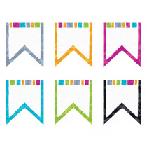 T-10676 - Color Harm Pennants Classic Accents Variety Pk in Accents