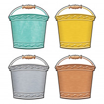 T-10732 - Buckets Mini Accents Variety Pk I Heart Metal in Accents