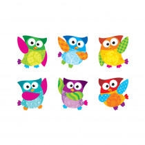 T-10880 - Owl Stars Mini Accents Variety Pack in Accents