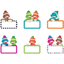T-10894 - Sock Monkeys Signs Mini Accents Variety Pack in Accents