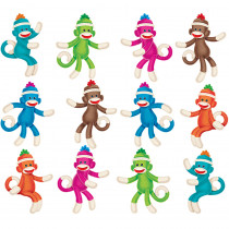 T-10897 - Sock Monkeys Mini Accents Variety Pack in Accents
