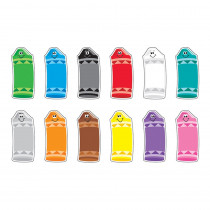 T-10904 - Crayon Colors Classic Accents Variety Pk in Accents