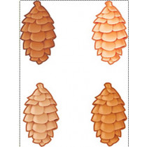 T-10953 - Classic Accents Pinecones Variety Pks in Holiday/seasonal
