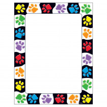 T-11419 - Paw Prints Terrific Papers in Design Paper/computer Paper