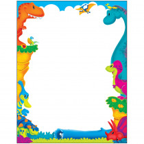 T-11450 - Dino-Mite Pals Terrific Papers in Design Paper/computer Paper