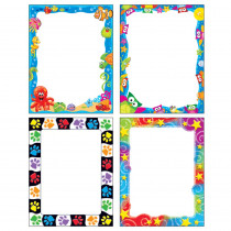 T-11921 - Fun Friends Papers Variety Pack 200 Sheets in Design Paper/computer Paper
