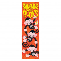 T-12040 - Bananas For Books Monkey Mischief Bookmarks in Bookmarks