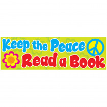 T-12105 - Keep The Peace Bookmarks in Bookmarks