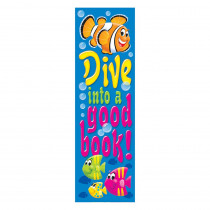 T-12120 - Dive Into A Good Book Sea Buddies Bookmarks in Bookmarks