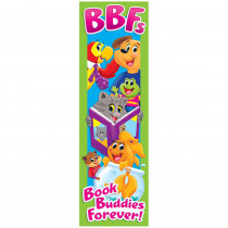 T-12130 - Playtime Pal Book Buddies Bookmarks Bold Strokes Dream 36Ct in Bookmarks