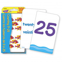 T-23024 - Pocket Flash Cards Cuenta Los N in Flash Cards