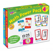 T-23904 - Math Power Pack in Flash Cards