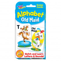 T-24023 - Alphabet Old Maid Challenge Cards in Card Games