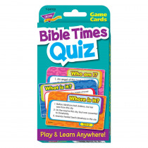 T-24703 - Challenge Cards Bible Times Quiz in Card Games