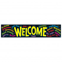 T-25038 - Banner Welcome Multilingual in Banners