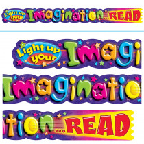 T-25052 - Light Up Your Imagination Read 10Ft Horizontal Banner in Banners