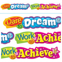 T-25053 - Dare To Dream It 10Ft Horizontal Banner in Banners