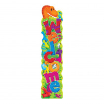 T-25080 - Welcome Dino-Mite Pals Quotable Expressions Banner 5Ft in Banners
