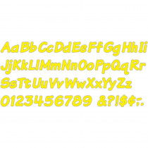 T-2701 - Ready Letters 4 Inch Italic Yellow in Letters