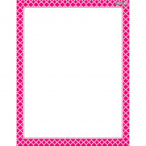T-27326 - Moroccan Pink Wipe Off Chart in Classroom Theme