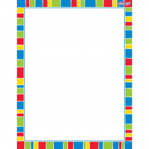 T-27344 - Stripe-Tacular Cheerful Wipe Off Chart in Classroom Theme