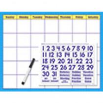 T-27802 - Reusable Calendar Cling Numerals 17 X 22 in Calendars