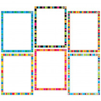 T-27909 - Stripe-Tacular Wipe Off Charts in Classroom Theme