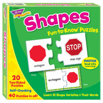 T-36008 - Fun-To-Know Puzzlesshapes in Puzzles
