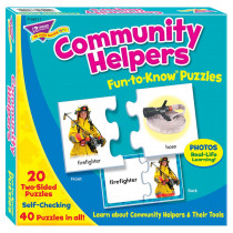 T-36011 - Fun To Know Puzzles Community Helpers in Puzzles